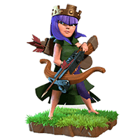 Archer Queen - Clash of Clans