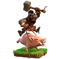 Hog Rider - Clash of Clans