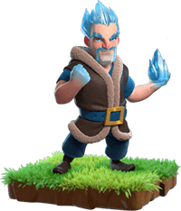 Ice Wizard - Clash of Clans