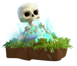 Witch/Skeleton - Clash of Clans