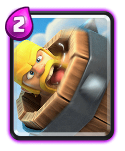 Barbarian Barrel - Clash Royale