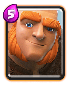 Giant - Clash Royale
