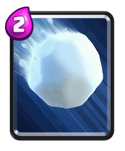 Giant Snowball - Clash Royale