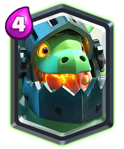 Inferno Dragon - Clash Royale
