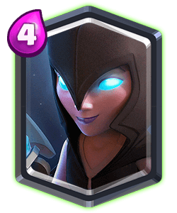 Night Witch - Clash Royale