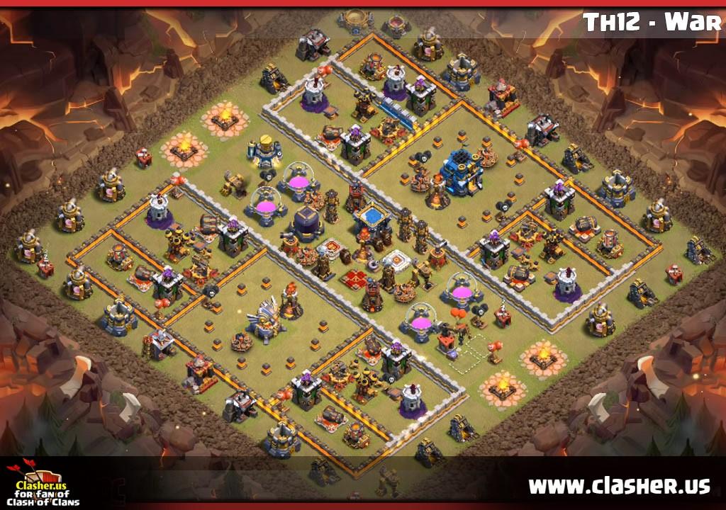 Coc Th 13 War Base 9