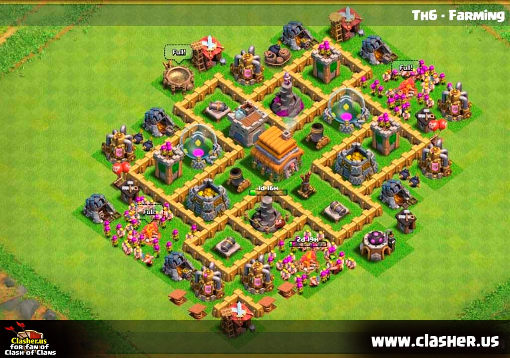 Town Hall 6 - FARMING Base Map #6 - Clash of Clans   Clasher.us Map Clash Of Clans on dragon's dogma map, planetside 2 map, five nights at freddy's map, battlefield: bad company 2 map, clash clans minecraft, clash of calns, clash clans bases, league of legends map, grand theft auto iii map, clash of clan crystal, clash clans best, grand theft auto: san andreas map, far cry 3 map, clash of craft, boom beach map,