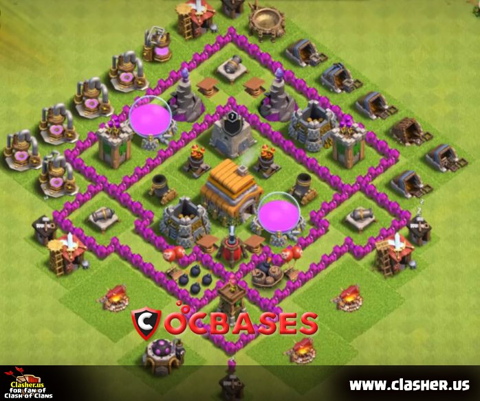 Base Map Coc Th 6 6